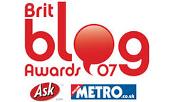 Metro's Brit Blog Awards