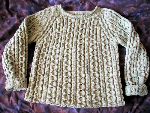 Organic Wool Raglan