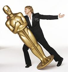 Oscar bailando con Ellen