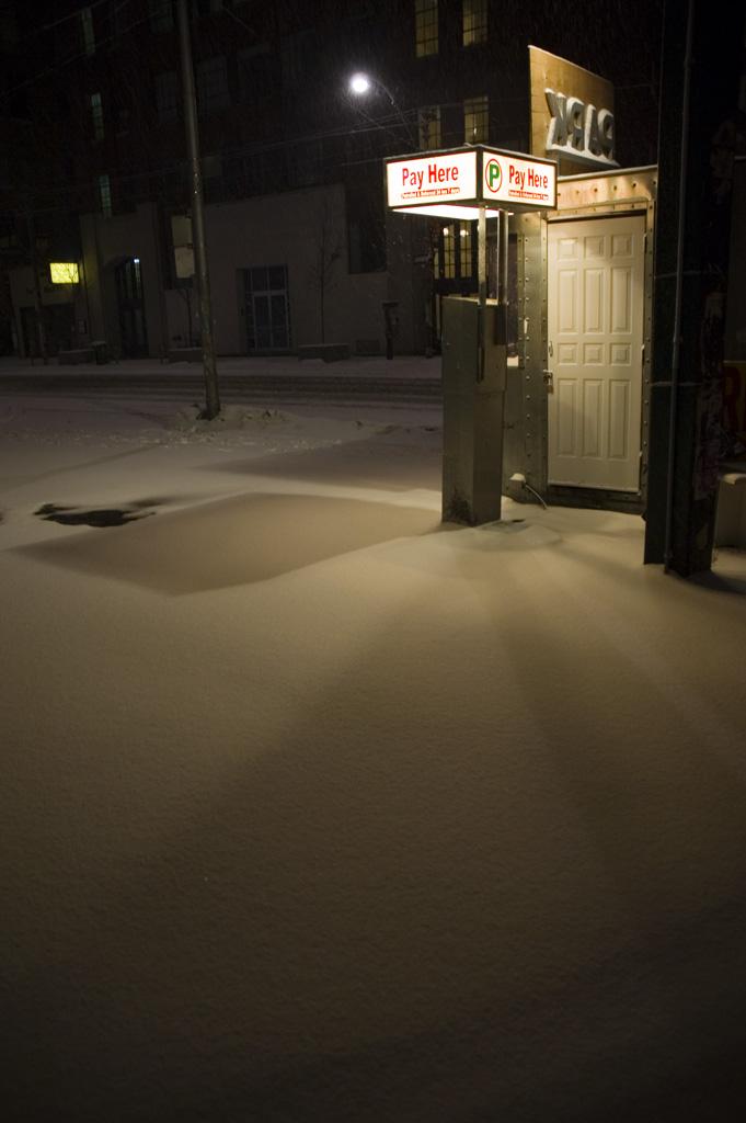 Snowy Lot