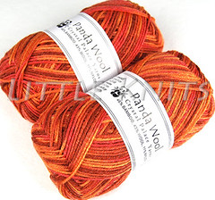 Panda Wool in Candied Ginger Color Line at Little Knits
