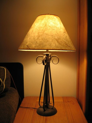 Table Lamp (2) - Item 5 - SOLD