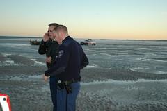 Paniek (Dirk Bruin) Tags: vlieland stuck police vast quicksand politie drijfzand klu vliehors
