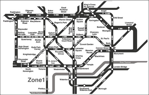 tube shortcuts by walking