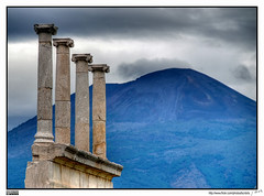 Vesuvius and Pompeii - by MorBCN