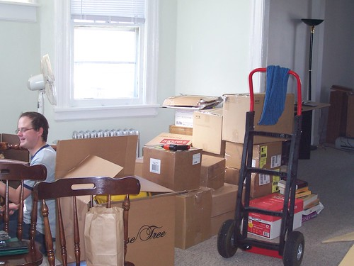 moving in 1