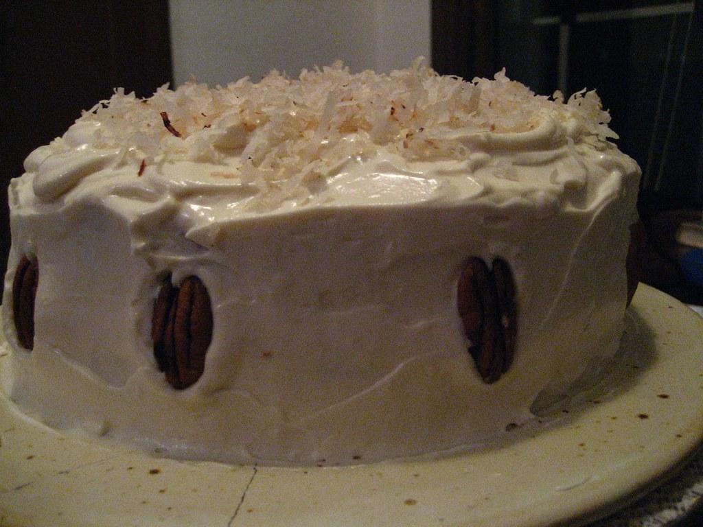 GF carrot cake!