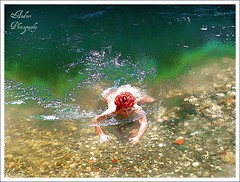 Serendipity (andzer) Tags: summer people holiday hot rock swimming poetry heart joy andreas greece macedonia thessaloniki gorge vacancy myfaves salonica   zervas  portitsa chercherlafemme ysplix andzer