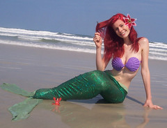 Dinglehopper :O! AKA a fork xD (Ms.Mars) Tags: ariel hearts photo costume little cosplay kingdom disney concept mermaid iconography the