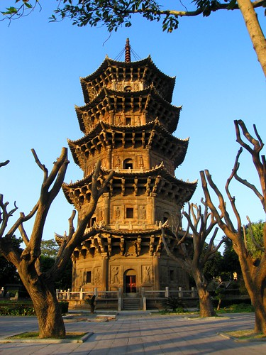 Pagoda - Kaiyun Temple - Quanzhou, China