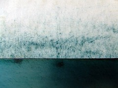 ...turquoise lake (the3robbers) Tags: blue abstract ink found printmaking newsprint intaglio the3robbers