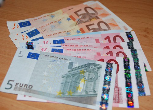 Euros picture by Flickr User jeffedoe