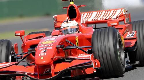 Ferrari en Australia 2007 -Foto: AFP