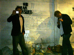 Tom & Heribert (Zora0) Tags: street city friends amigos mexico mexicocity df stadt mxicodf