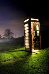 Midnight Conversation (night photographer) Tags: life nightphotography stilllife night booth manchester still long exposure phone cheshire box phonebooth photograhpy diamondclassphotographer