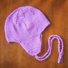 Knitting Pattern Baby Hat With Ear Flaps : Baby/Kids  Earflap Hat