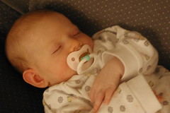 Meg Asleep at Almost 3 Months (2)