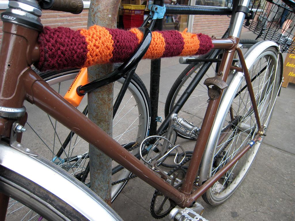 bike cozy and bottle opener