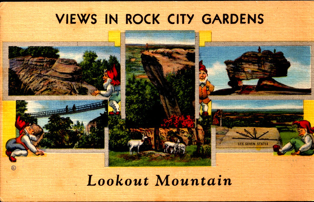 Views from Rock City Gardens