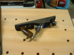 Record T5 Handplane - Side View