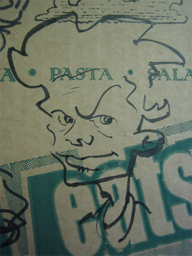 char28 - Pizza Box Doodles