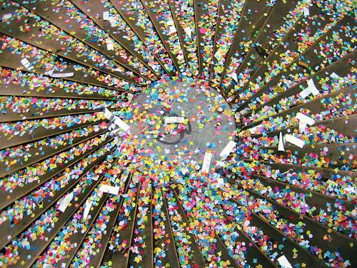 Confetti sun // Soleil de confettis