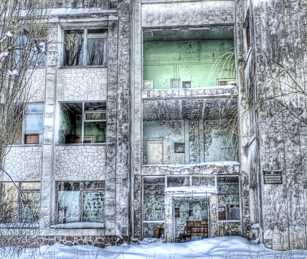 My Chernobyl Adventure part 2:  The Empty School