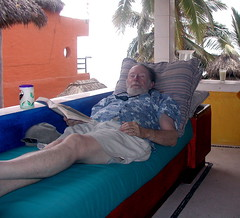Sanders Lamont sleeping