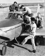 Pre-flight Aeronautics, 1947 (HDQH) Tags: vintage dad planes aeronautics flightschool navion northamerican hdqh