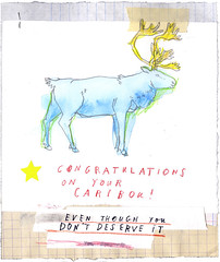 Unjust Rewards. (David Fullarton) Tags: blue caribou reward