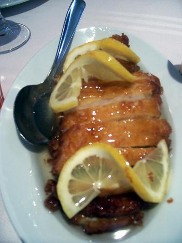 Pollo al limón por dr. muerte se come el mundo.