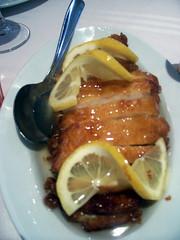 Pollo al limón
