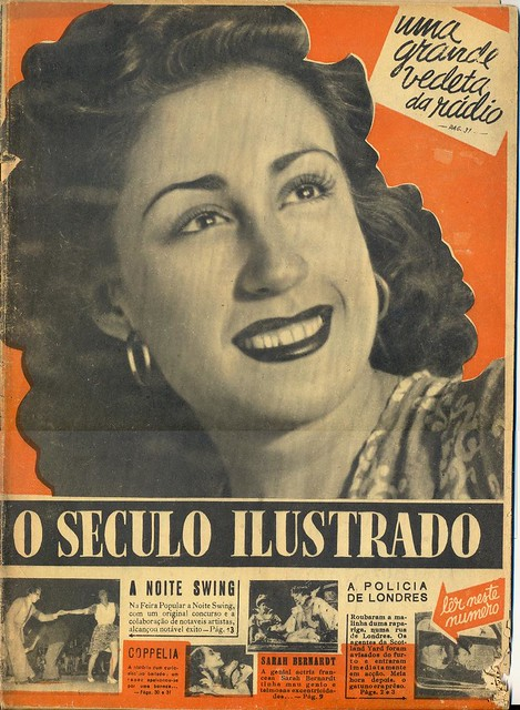 O Século Ilustrado, No. 346, 19 August, 1944 - cover