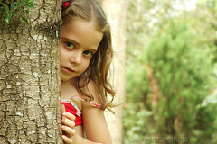 Hide And Seek (Gustavo Hugo) Tags: brazil tree texture textura girl brasil ana kid fuji hideandseek hide finepix arvore s9500 alfajors esconder s9000 escondeesconde