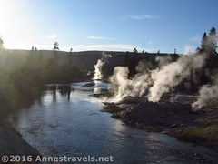 Fumaroles along the Firehole River (Annes Travels) Tags: yellowstone wyoming uppergeyserbasin geysers geothermal
