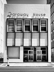 Faraway House (red snapper 205) Tags: architecture adelaide urban explore building built blackandwhite bw monochrome constrast office vertical