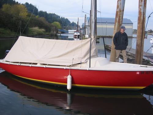 & Where to buy ready-made boom tent for Pearson Ensign?