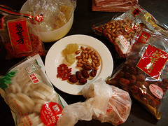 Pork Rib & Lotus Root Soup: Ingredients.