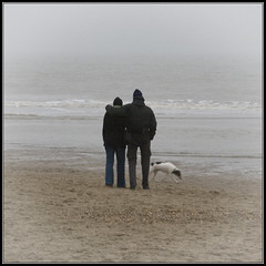 Kijkduin (siebe ) Tags: mist holland beach netherlands dutch strand nederland kijkduin aplusphoto hollandsiebe hollandstock