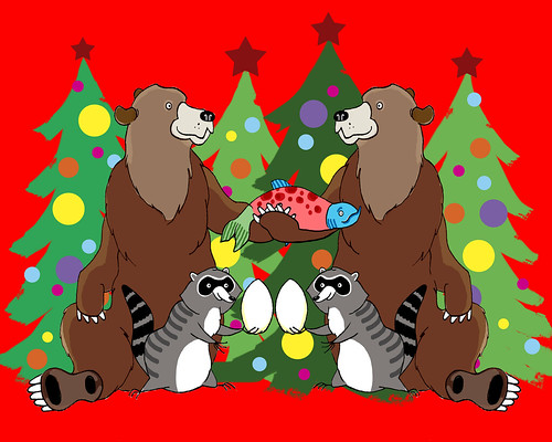 Christmas Bears & Friends
