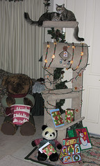 Christmas Cat Tree