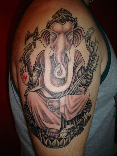 ganesha tattoos. Ganesha Tattoo