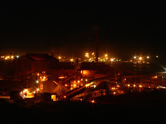 Whyalla - OneSteel and the Red Dust Factory (Mowling) Tags: longexposure plant industry night industrial factory steel australia pollution dust steelworks whyalla pellet onesteel mowling bestofaustralia shannonmowling