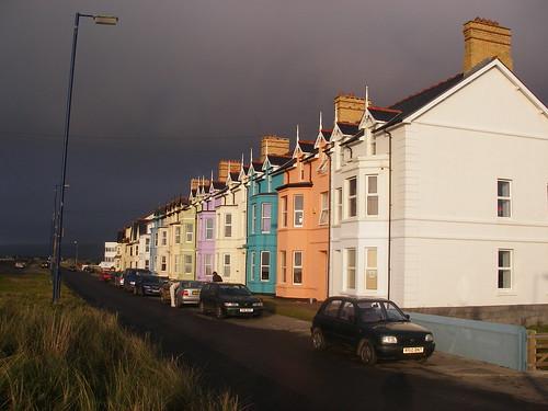 Borth: storm clouds