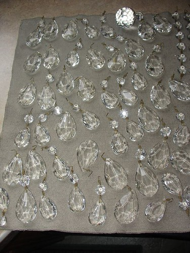 crystals drying