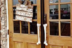 Boneyard door