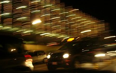 piazzale roma (hanna.bi) Tags: christmas street city venice cars night lights parking venise venezia venedig parcheggio