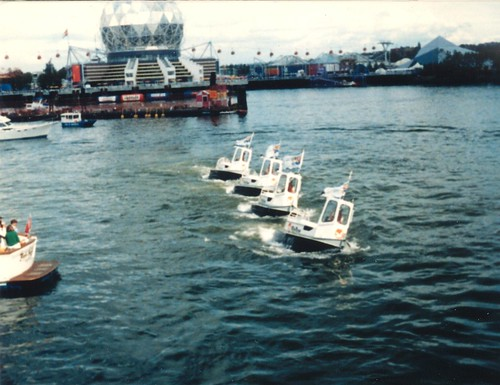 Expo 86 - Boom boats