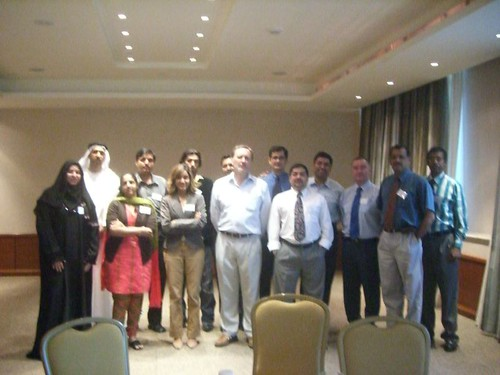 David Gurteen's Effective Knowledge Worker Workshop, Dubai, December 2006