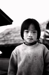 portrait 6 (basbessie) Tags: bw thailand kid akha